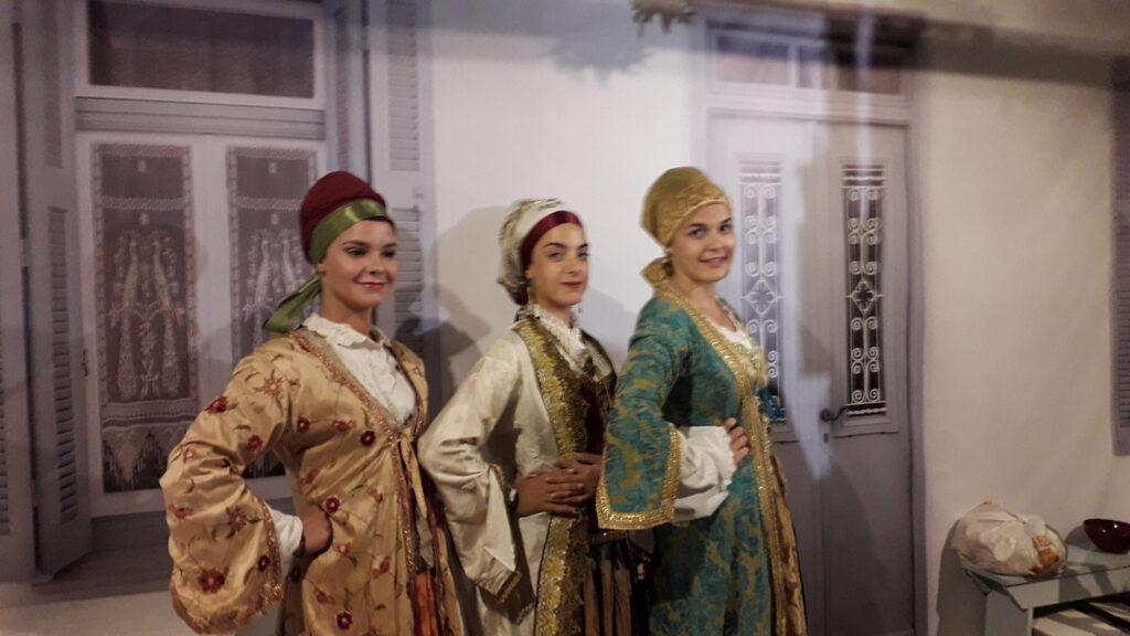 Greek traditional Cycladic costumes