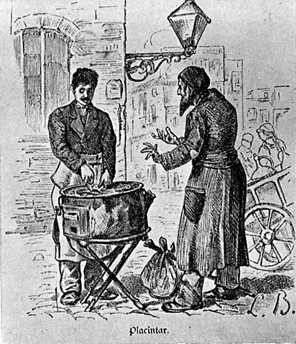 Greek Cheesecake maker, Bucharest 1880