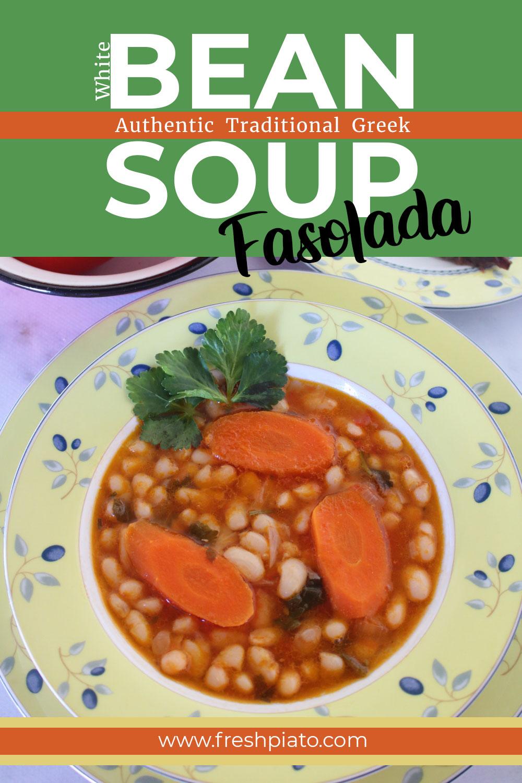 Bean soup pinterest pin
