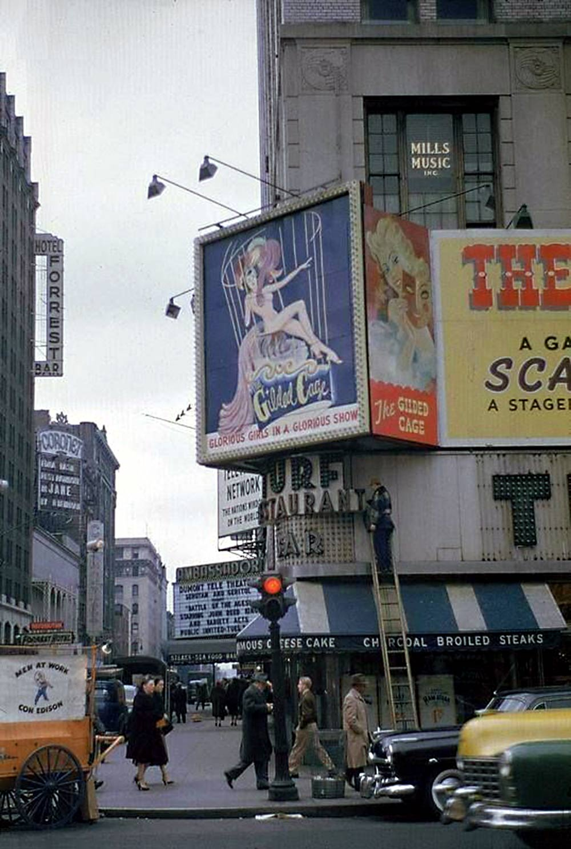 Turf restaurant NY 1950