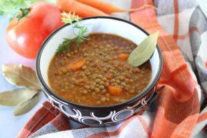 fakes lentil soup recipe