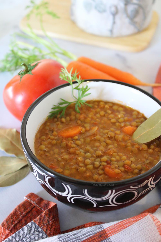 Fakes soup lentil soup recipe