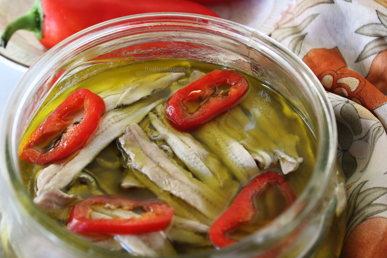 Marinated Anchovy recipe