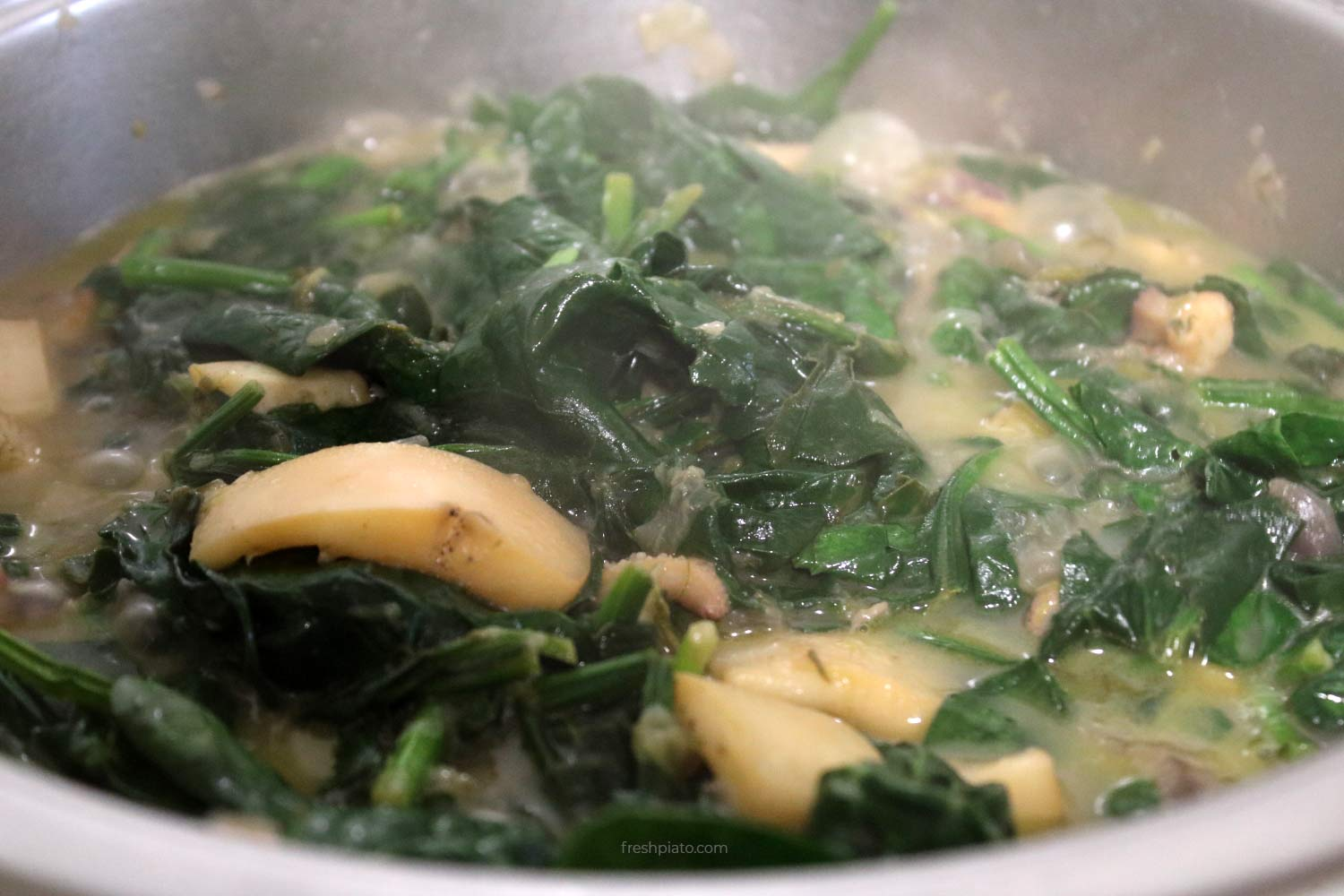 cuttlefish and spinach step8