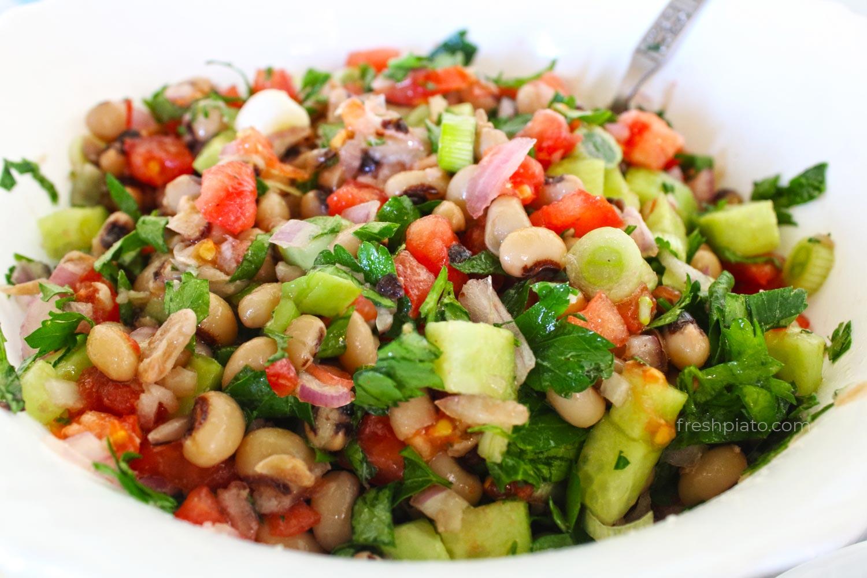 Μαυρομάτικα σαλάτα συνταγή