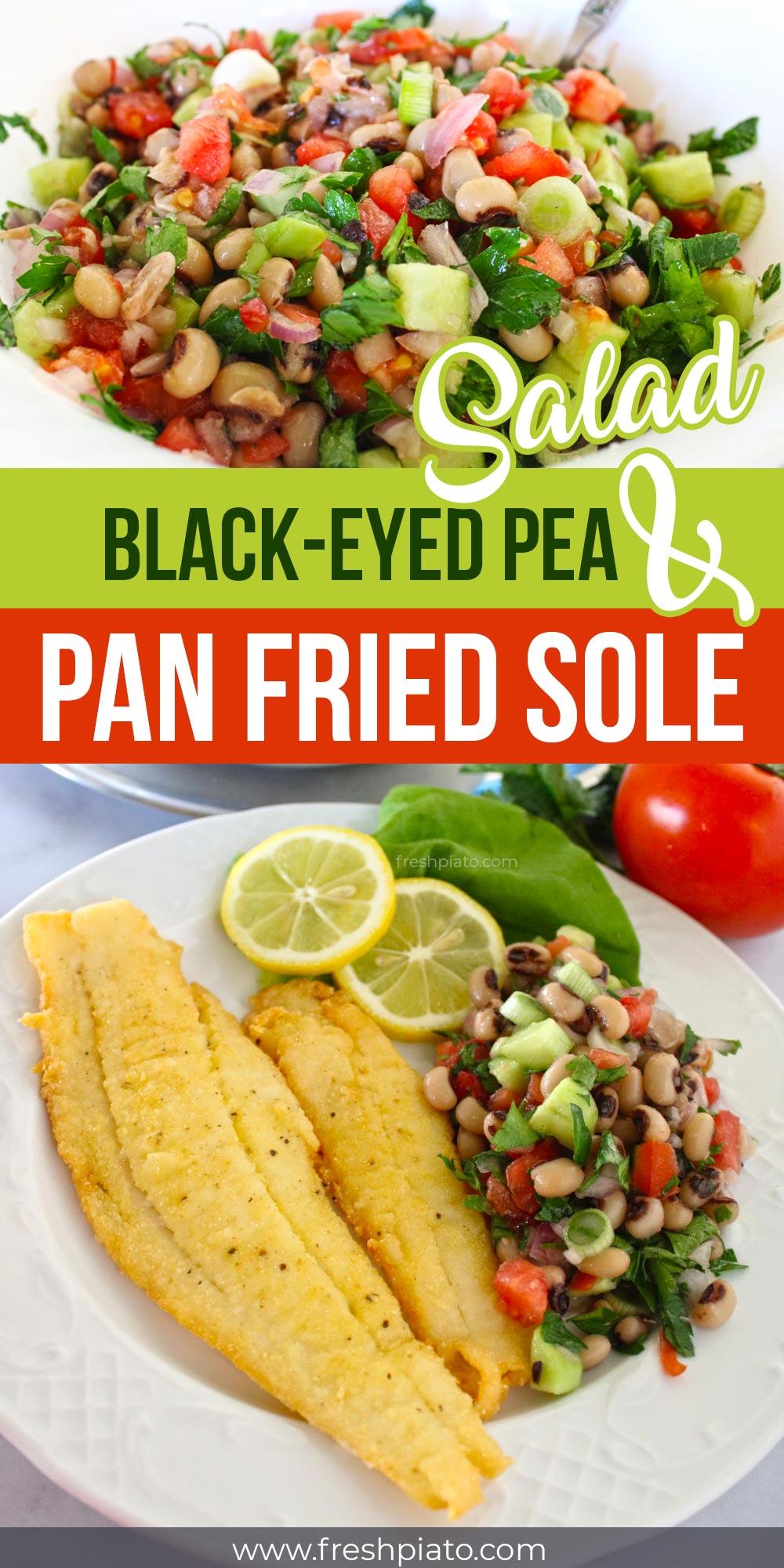 Pan fried Sole pin1