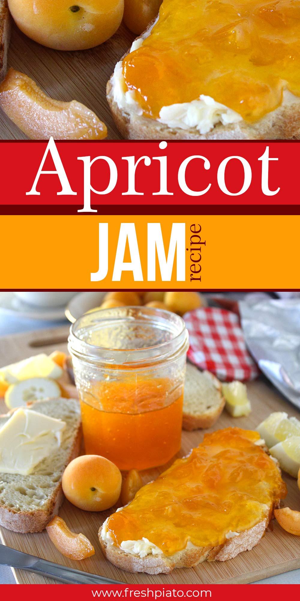 Apricot jam pin