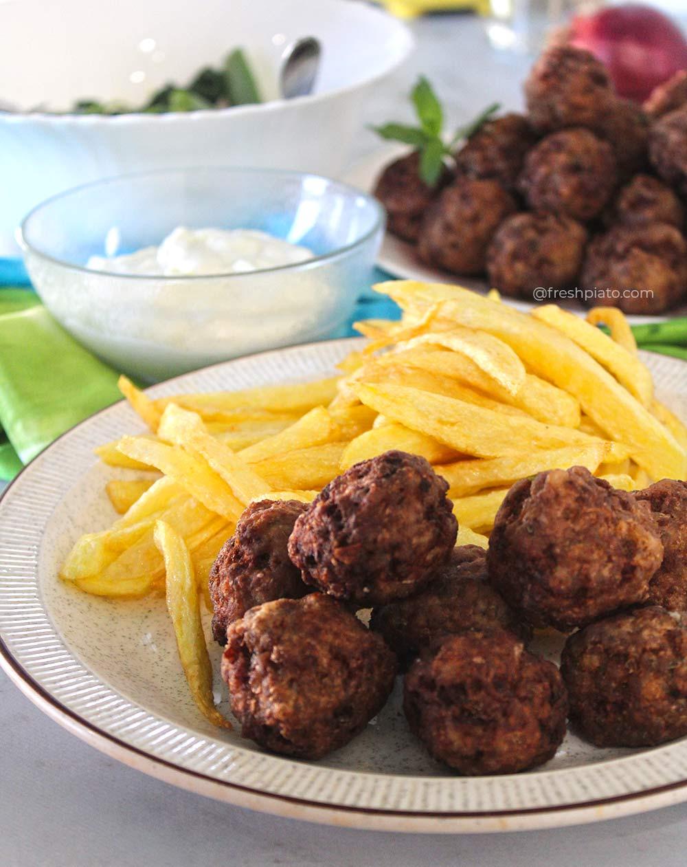 Κεφτεδάκια πατάτες συνταγή