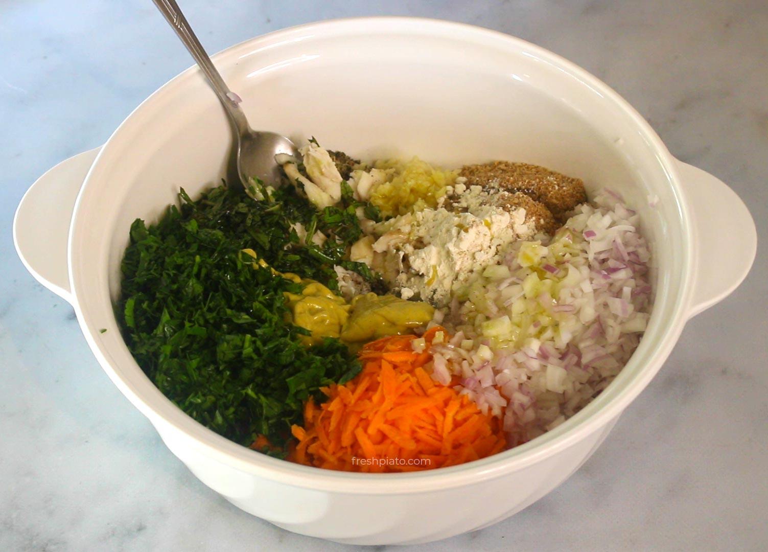 fish croquettes ingredients