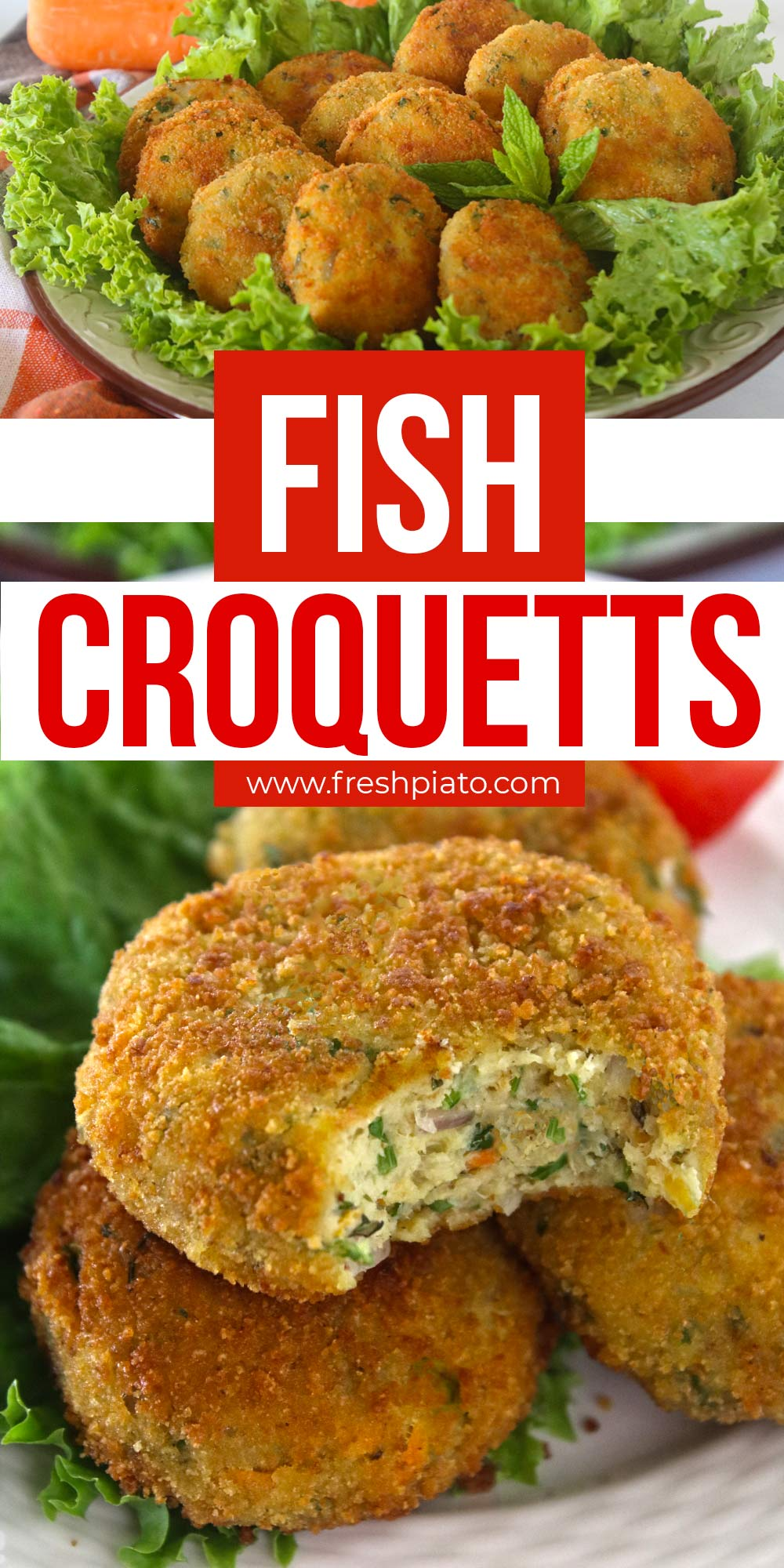 fish croquettes pin