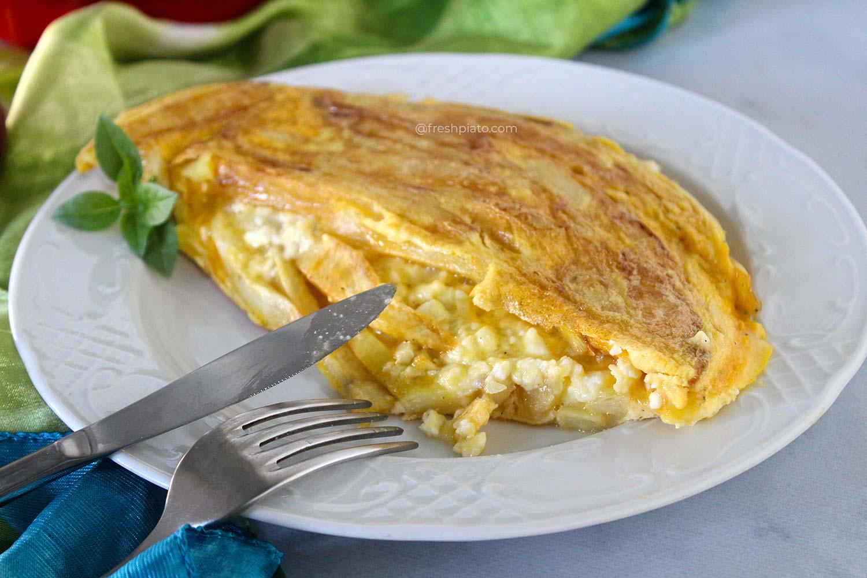 greek omelet recipe