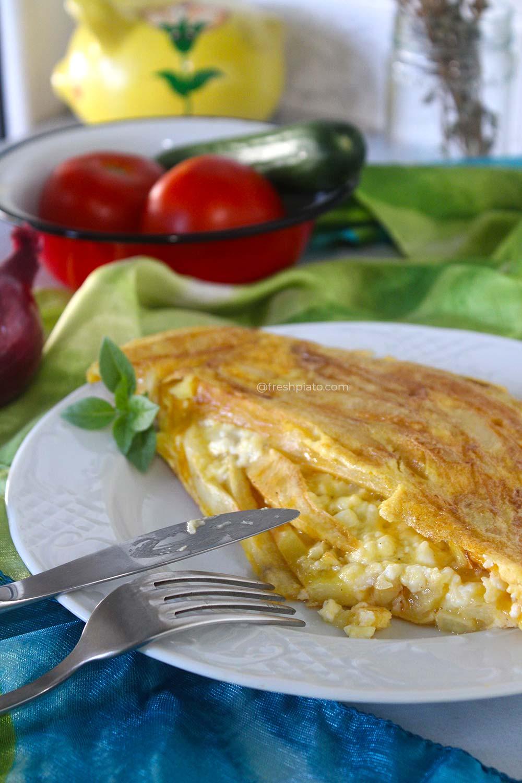 Greek Omelette1