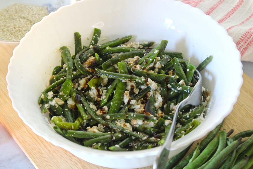 Snake bean salad recipe